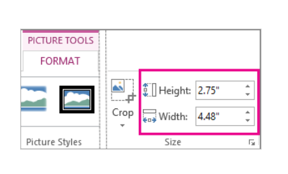 PowerPoint Presentations – Resizing The Exact Width And Height